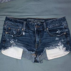 American Eagle Outfitters Distressed Shorties